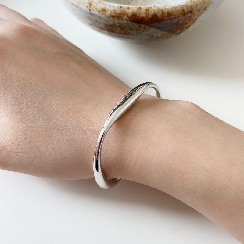 Vòng tay Lắc tay bạc 925 nguyên khối 11296124-01