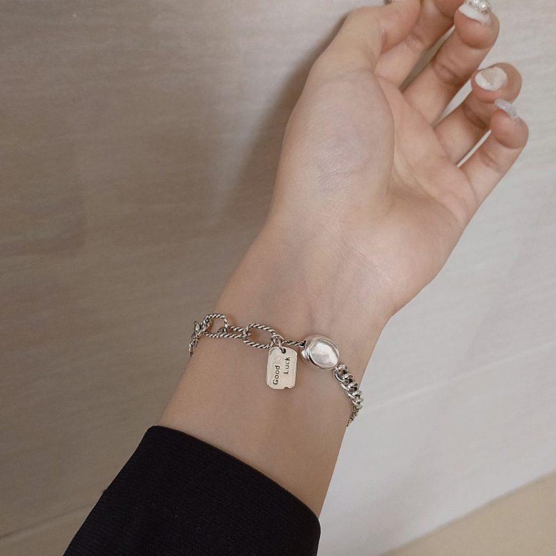 Lắc tay Vòng tay bạc dạng chuỗi LILI_487256-01