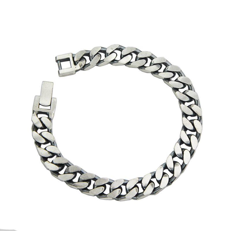 Lắc tay Vòng tay bạc dạng chuỗi đan nhau LILI_151175-01