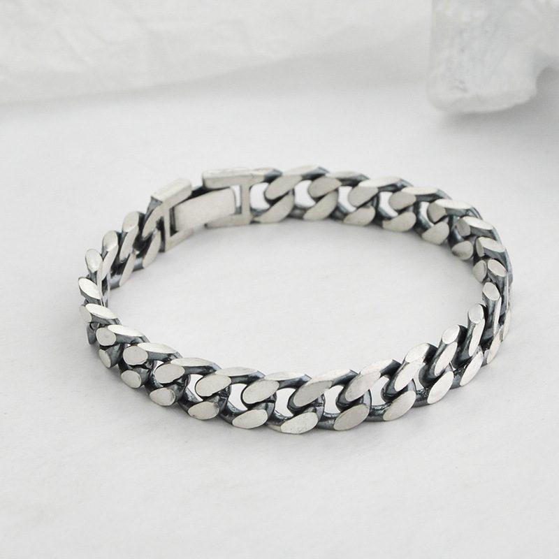 Lắc tay Vòng tay bạc dạng chuỗi đan nhau LILI_151175-03