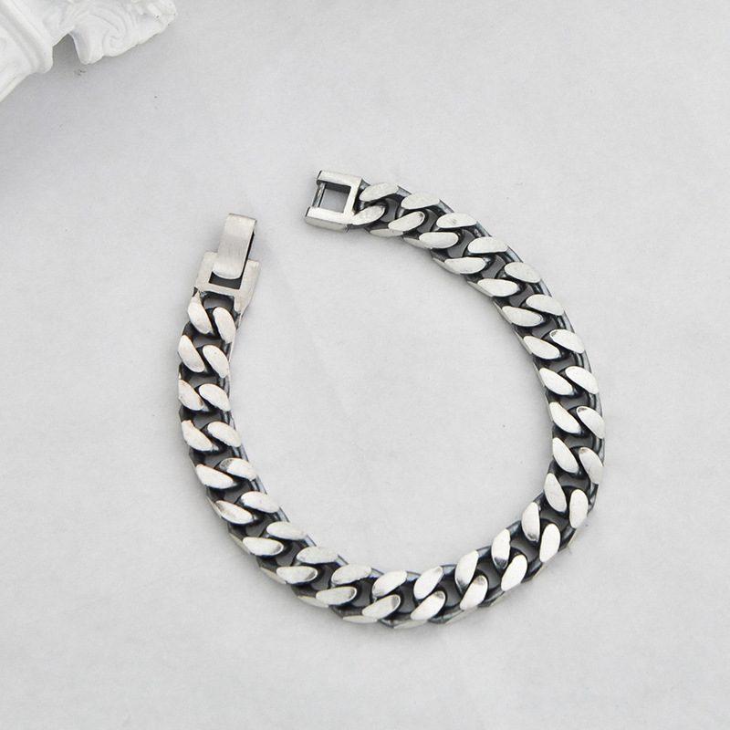 Lắc tay Vòng tay bạc dạng chuỗi đan nhau LILI_151175-05