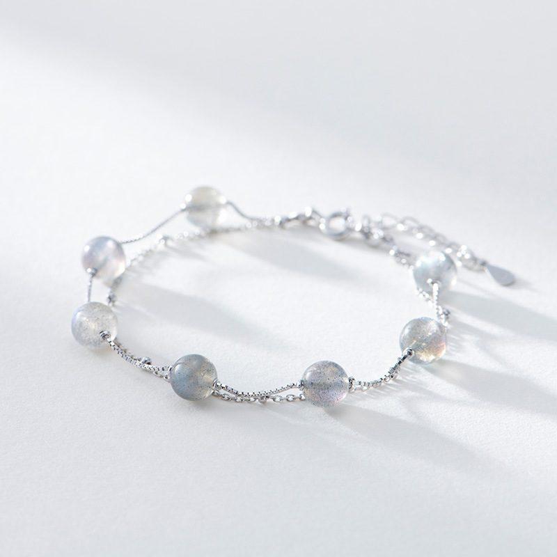 Lắc tay Vòng tay bạc đính pha lê đa sắc LILI_844426-02