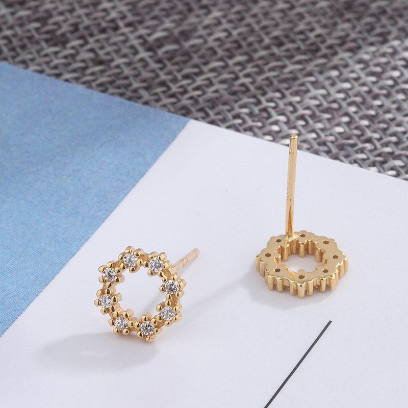 Bông tai bạc đính đá Zircon Lovely LILI_262227-04