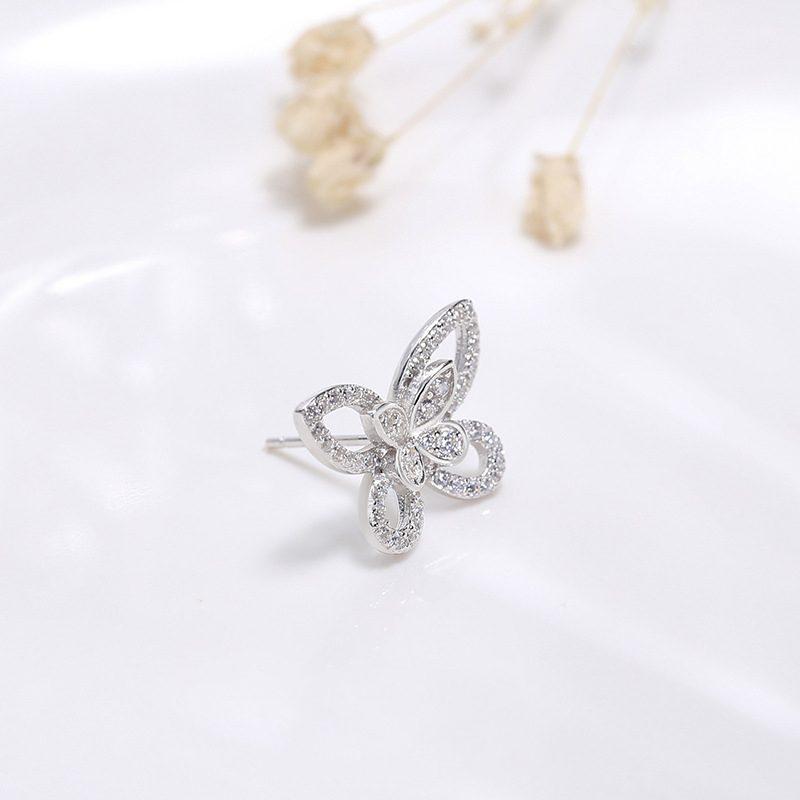 Bông tai bạc hình cánh bướm LILI_751445-01