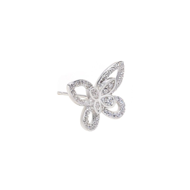 Bông tai bạc hình cánh bướm LILI_751445-04