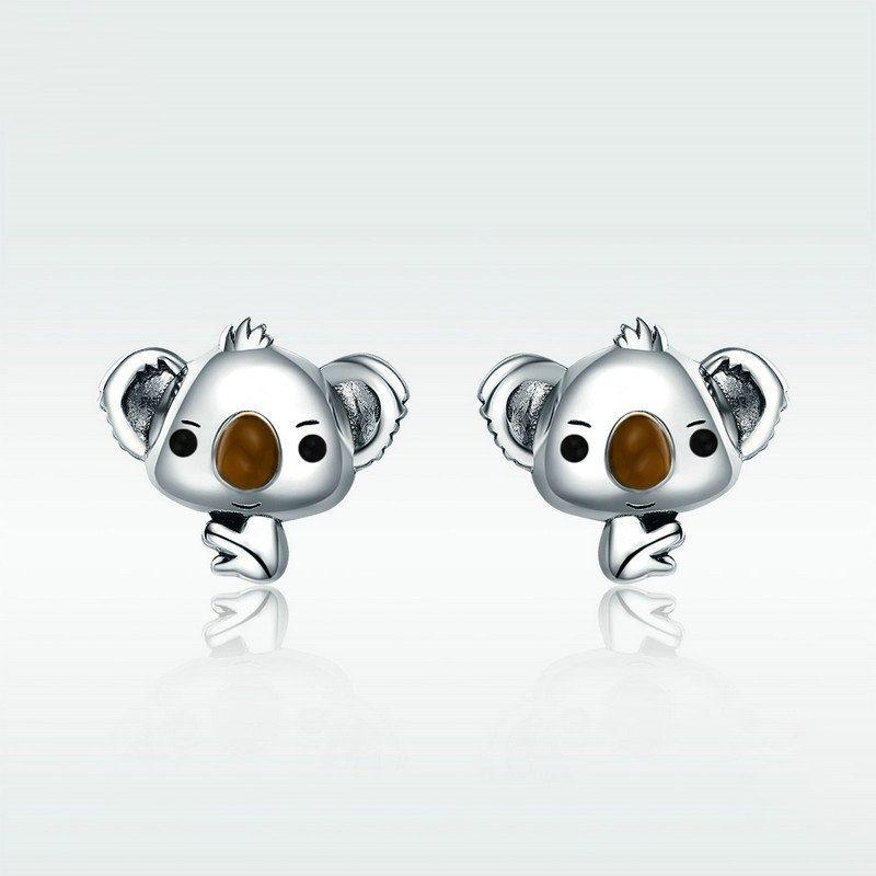 Bông tai bạc hình chú chuột dễ thương LILI_592839-01
