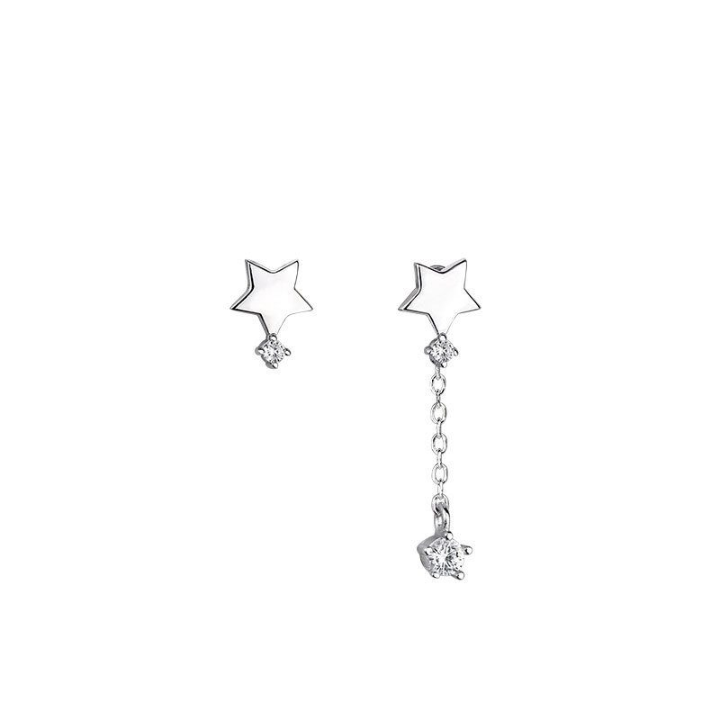 Bông tai bạc hình ngôi sao 5 cánh LILI_455796-05