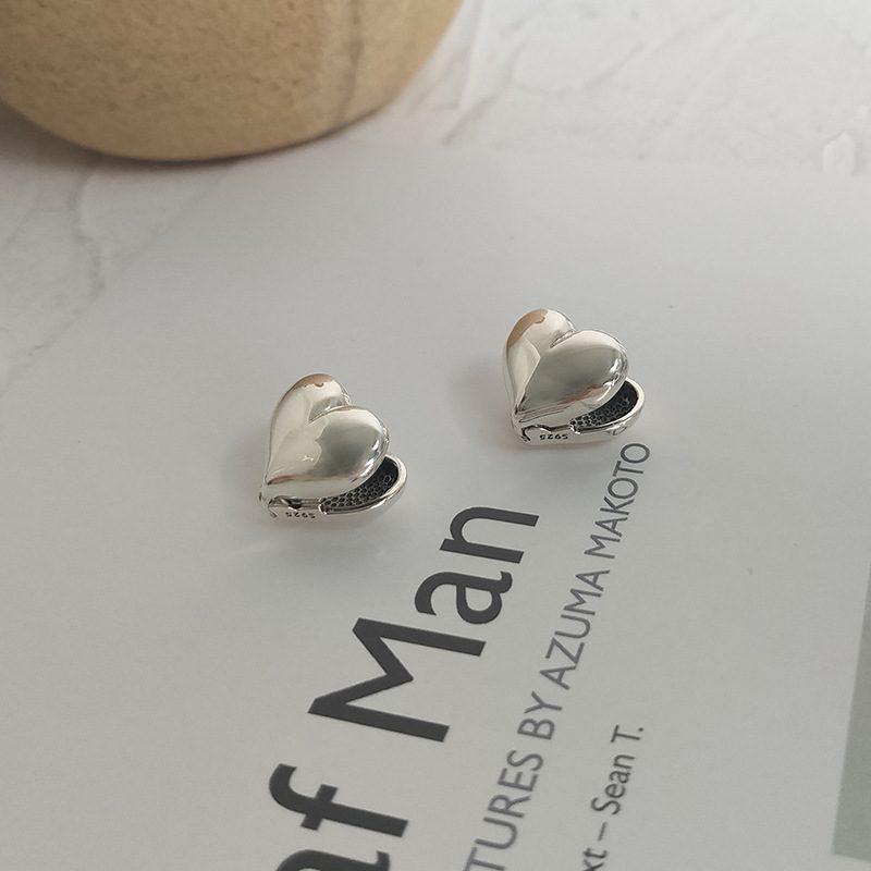 Bông tai bạc hình trái tim LILI_276793-06