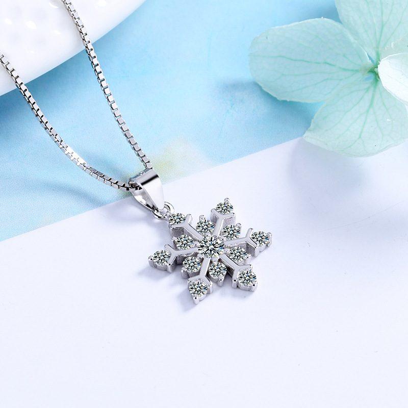 Dây chuyền bạc bông tuyết LILI_238195-3