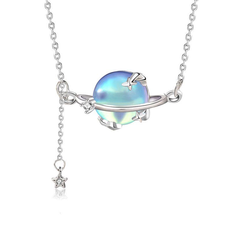 Dây chuyền bạc đá Aurona LILI_457839-3