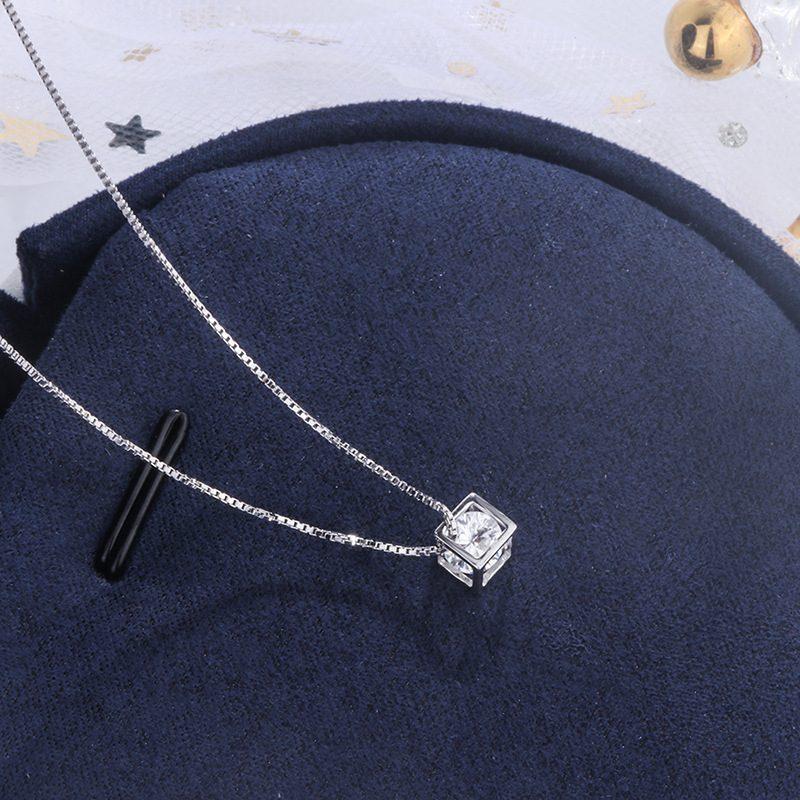 Dây chuyền bạc khối hộp đá Zircon LILI_435637-3