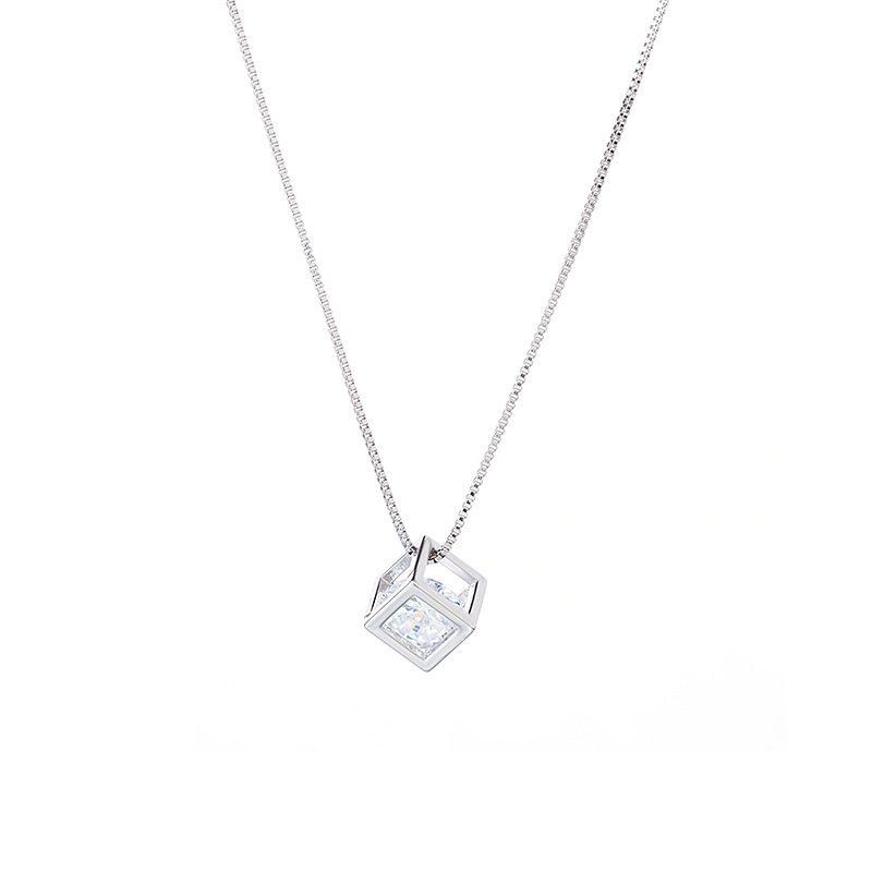 Dây chuyền bạc khối hộp đá Zircon LILI_435637-5