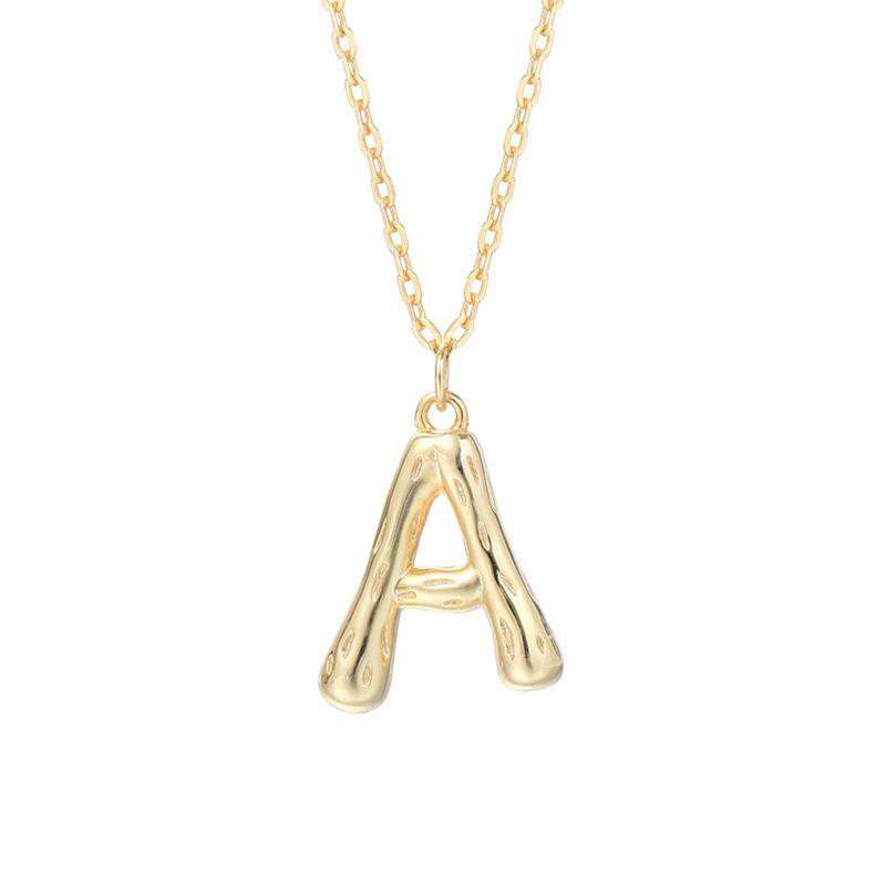 Dây chuy�n bạc mạ vàng chữ viết LILI_521849-a