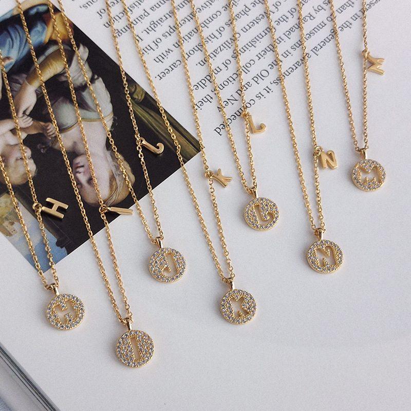 Dây chuyền bạc mạ vàng chữ viết LILI_928314-02