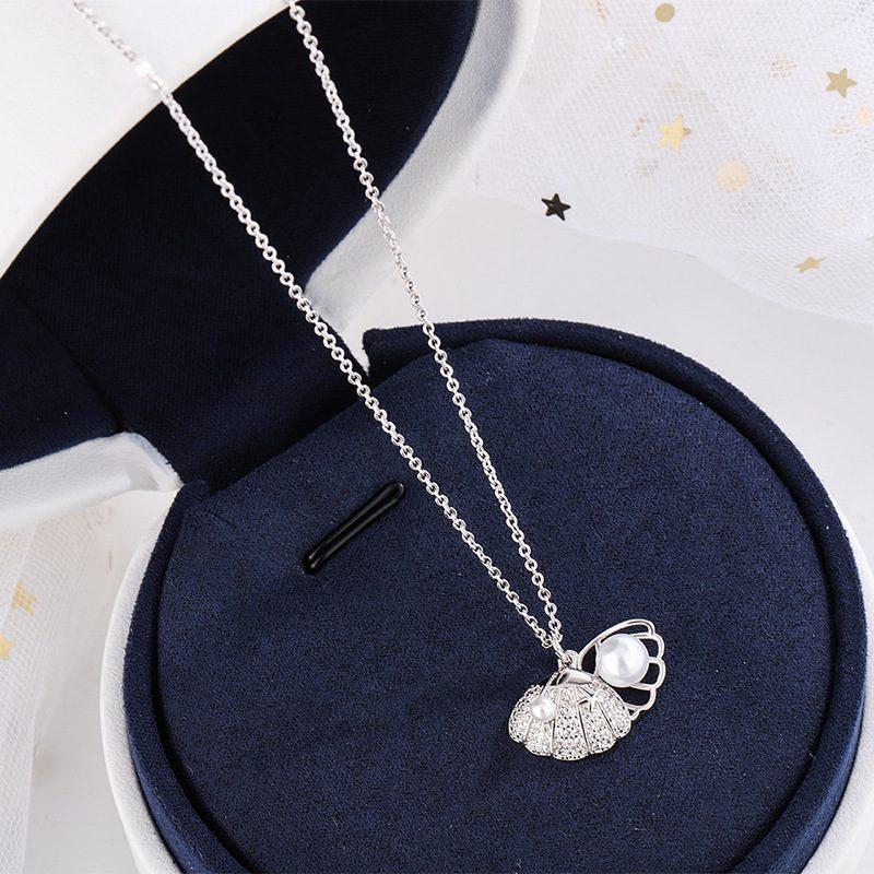 Dây chuyền bạc mạ vàng đính ngọc trai LILI_175836-3