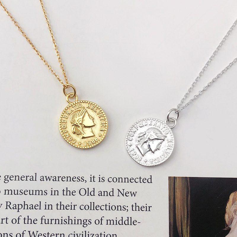 Dây chuyền bạc mạ vàng đồng xu LILI_264196-1
