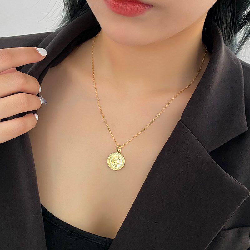 Dây chuyền bạc mạ vàng đồng xu LILI_264196-3