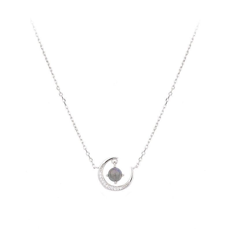 Dây chuyền bạc mặt trăng đính pha lê LILI_477232-4