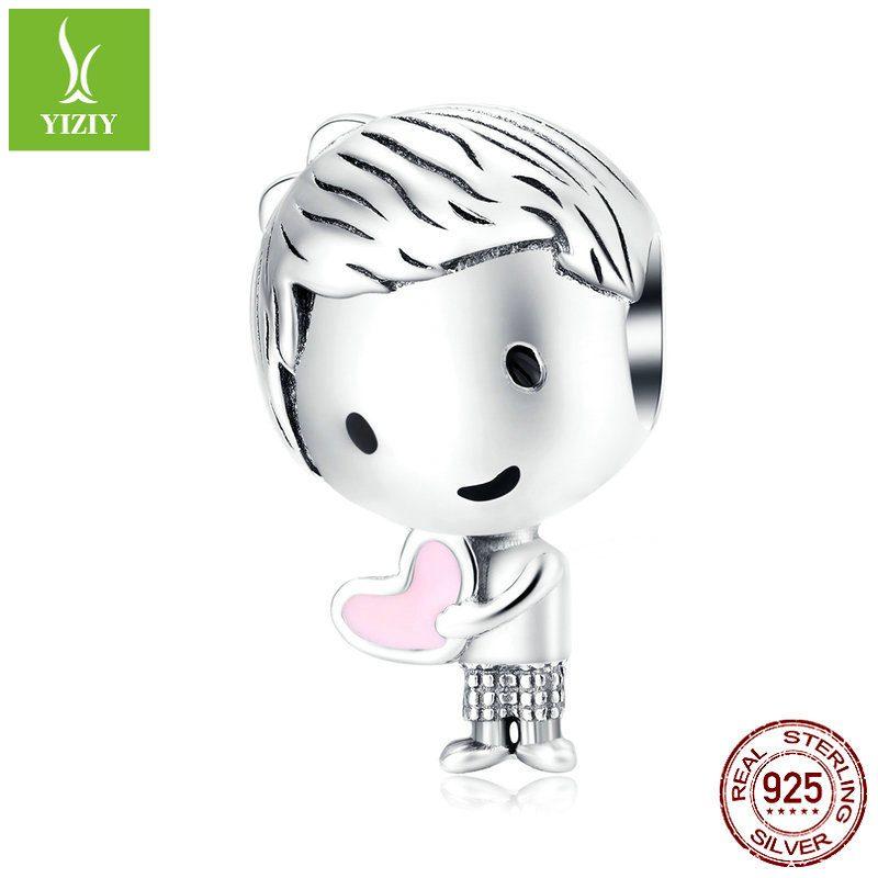 Hạt charm xỏ DIY hình đôi bạn thời thơ ấu LILI_515218-04