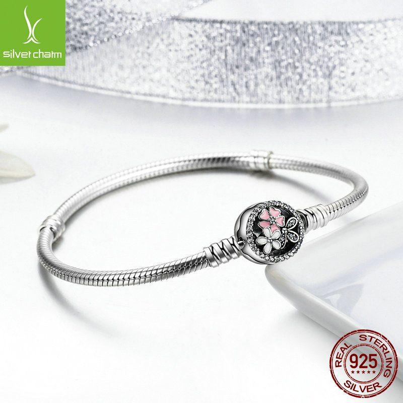 Lắc charm bạc đính đá Zircon LILI_112534-04