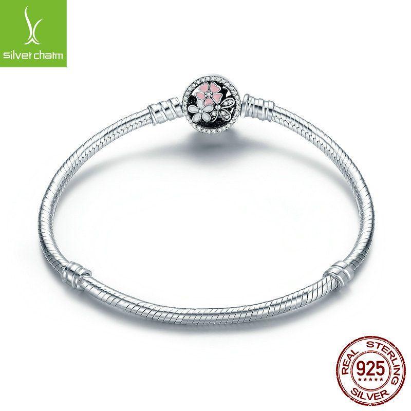 Lắc charm bạc đính đá Zircon LILI_112534-05