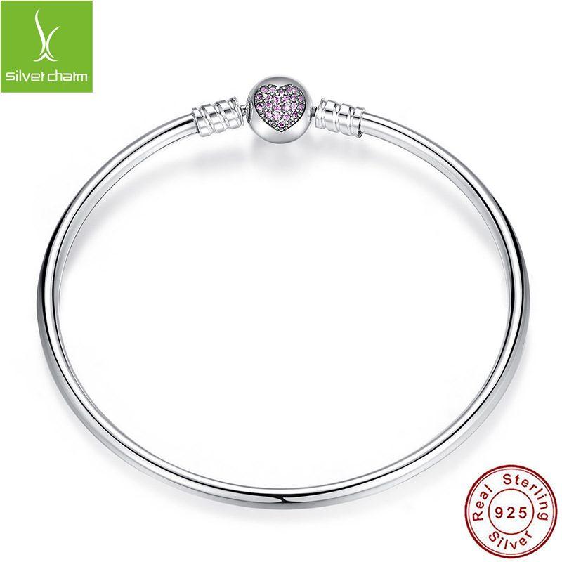 Lắc charm bạc đính đá Zircon LILI_112534-07