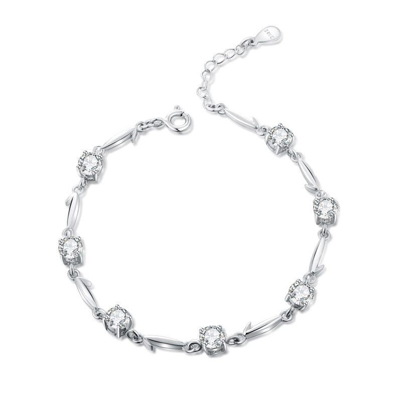 Vòng tay Lắc tay bạc đính đá Zircon LILI_113672-05