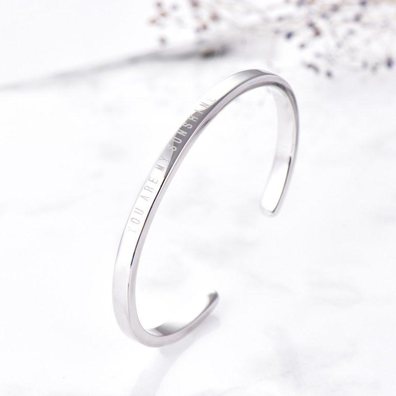Vòng tay Lắc tay bạc mạ bạch kim LILI_819472-02