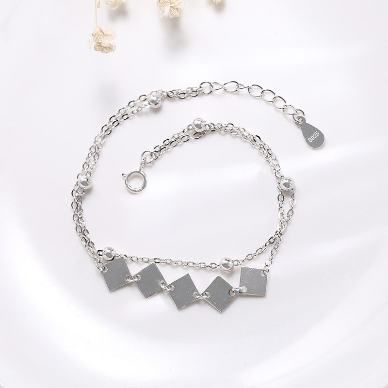Lắc tay Vòng tay bạc dạnh chuỗi LILI_969445-04