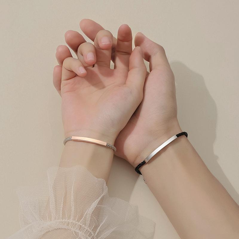 Lắc tay Vòng tay bạc theo cặp LILI_569669-02