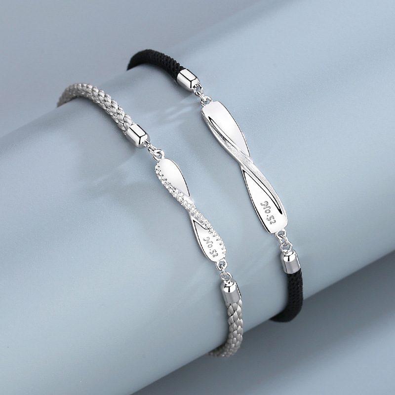 Lắc tay Vòng tay bạc theo cặp LILI_986852-03