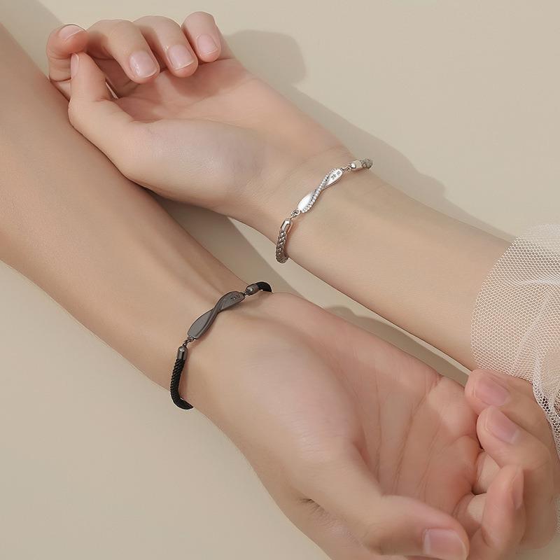 Lắc tay Vòng tay bạc theo cặp LILI_986852-04
