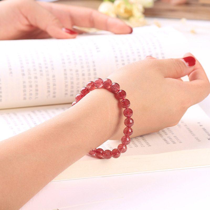 Lắc tay Vòng tay pha lê đỏ LILI_186789-06