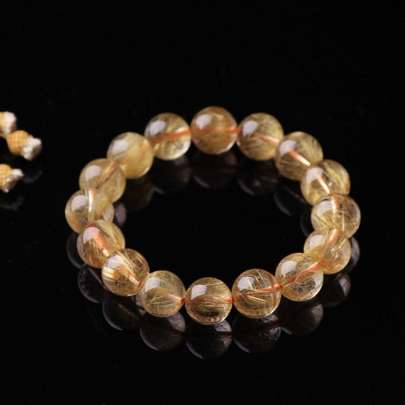Lắc tay Vòng tay thạch anh tóc vàng LILI_378476-02