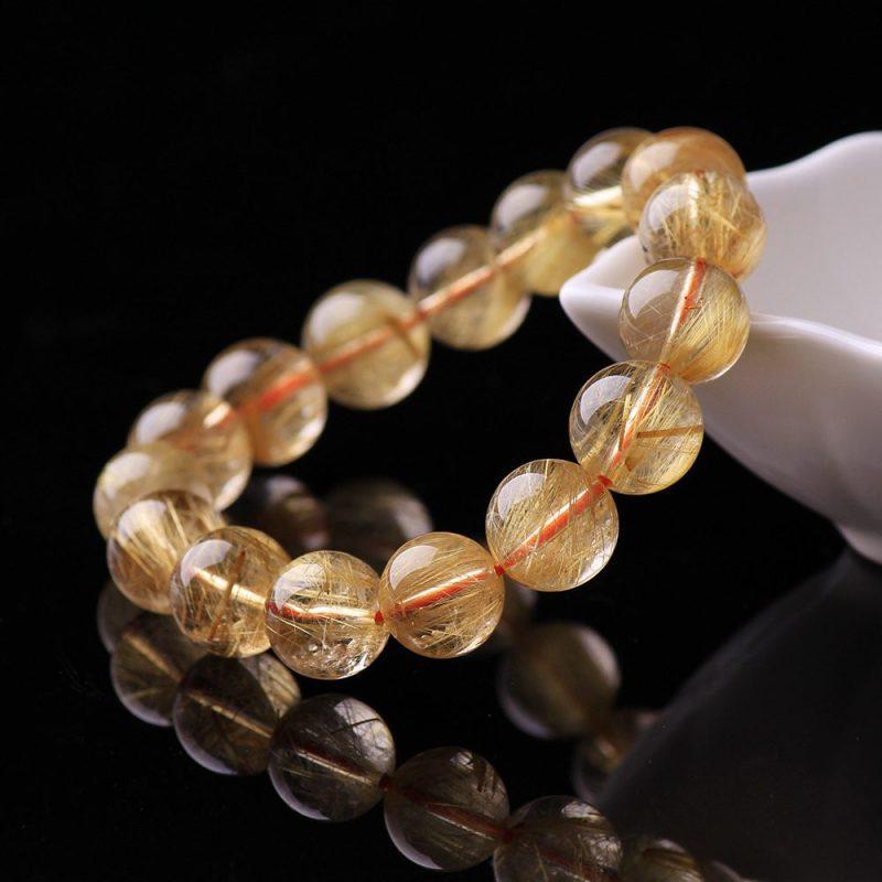 Lắc tay Vòng tay thạch anh tóc vàng LILI_378476-04