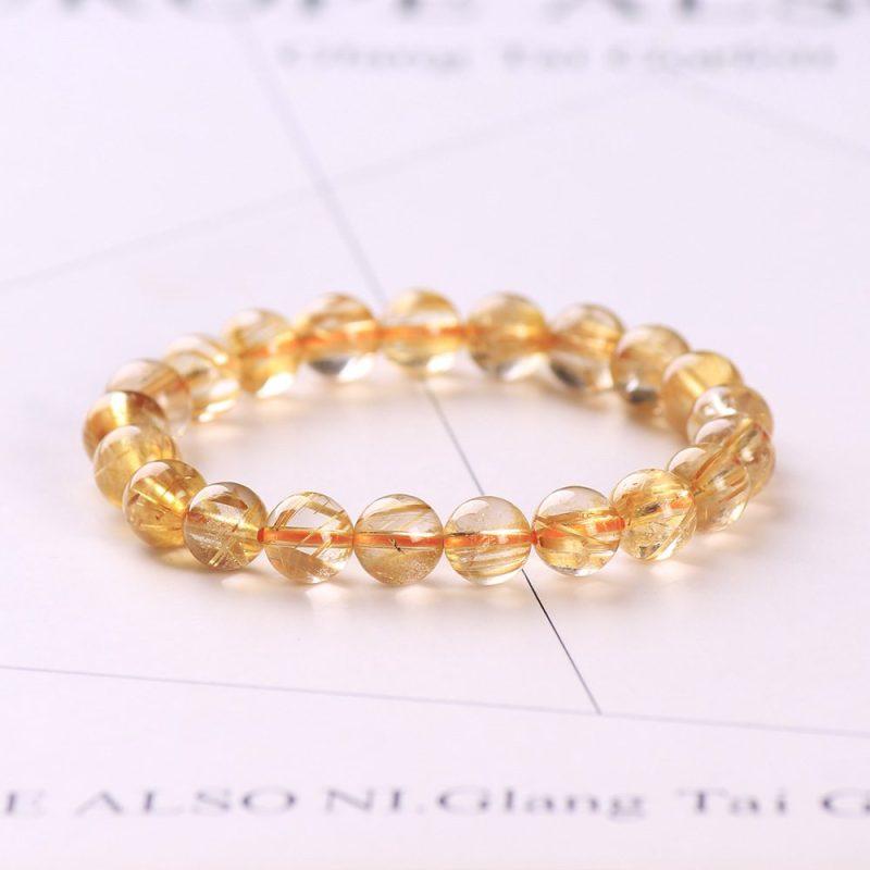 Lắc tay Vòng tay thạch anh tóc vàng LILI_378476-09