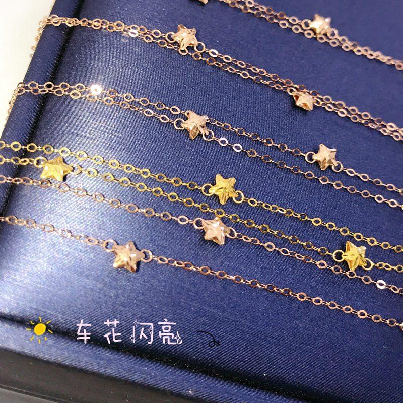 Lắc tay Vòng tay vàng 18k Gypsophila hình ngôi sao LILI_447381-04