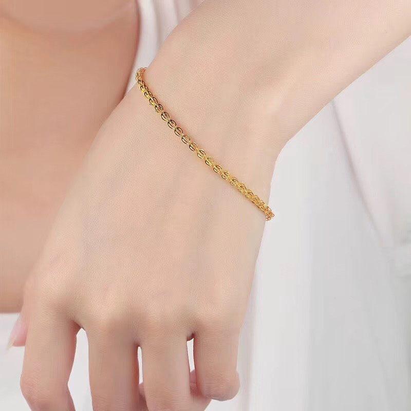 Lắc tay Vòng tay vàng 18k dạng chuỗi LILI_684222-03