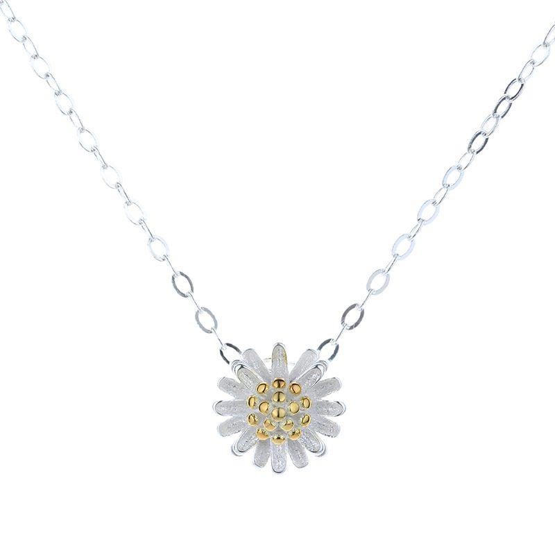 Bộ trang sức bạc cúc họa mi LILI_765251-05