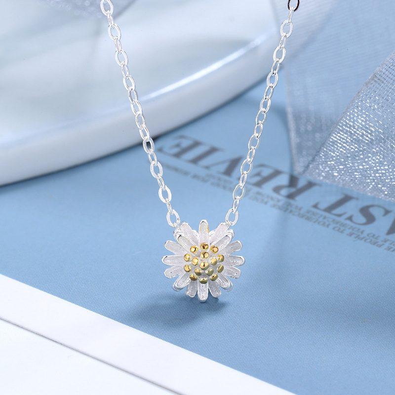 Bộ trang sức bạc cúc họa mi LILI_765251-07