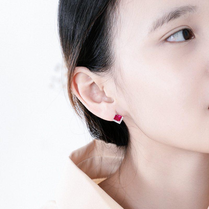 Bông tai bạc đính đá Zircon Sweet Dream LILI_328493-03