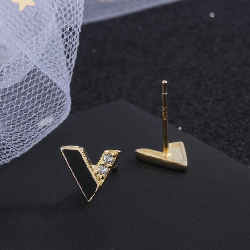 Bông tai bạc hình chữ V LILI_472163-04