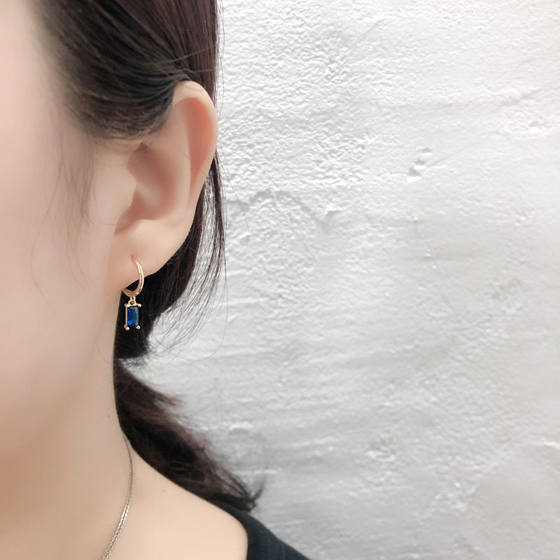 Bông tai bạc mạ vàng đính đá Zircon LILI_254916-01