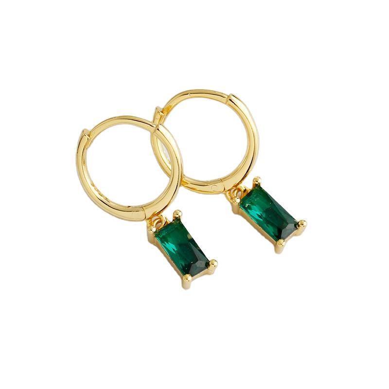 Bông tai bạc mạ vàng đính đá Zircon LILI_254916-02
