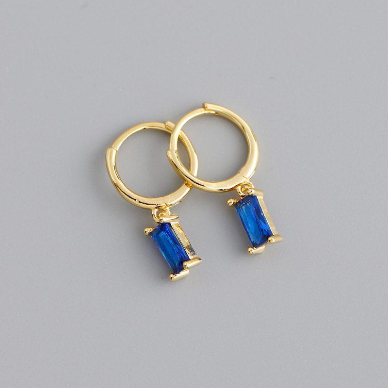 Bông tai bạc mạ vàng đính đá Zircon LILI_254916-03