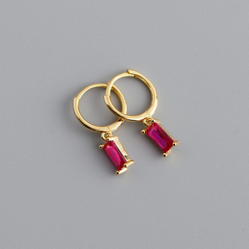 Bông tai bạc mạ vàng đính đá Zircon LILI_254916-04