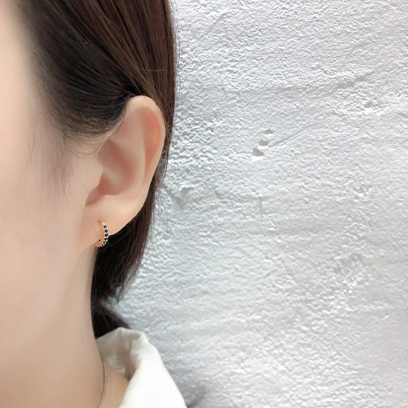 Bông tai bạc mạ vàng đính đá Zircon LILI_338864-01