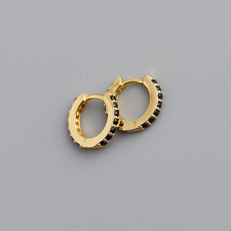 Bông tai bạc mạ vàng đính đá Zircon LILI_338864-02