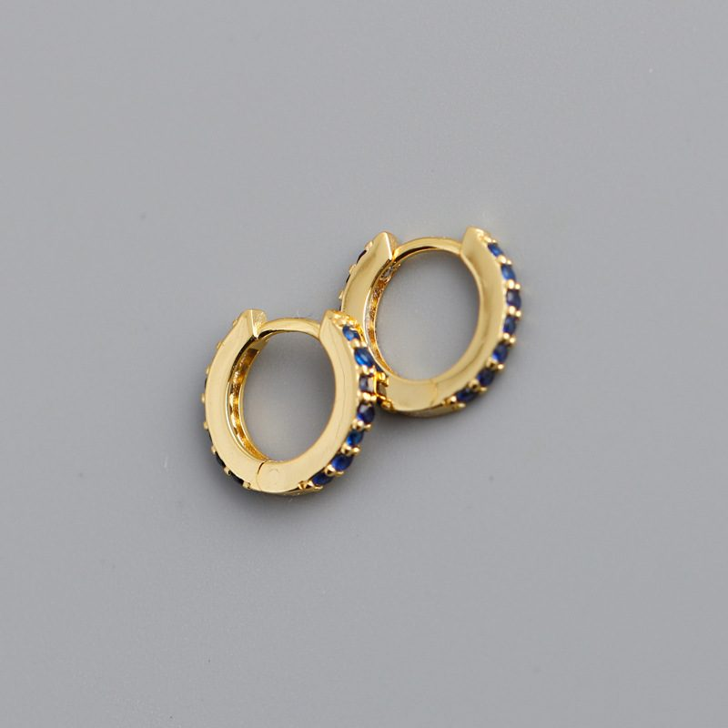Bông tai bạc mạ vàng đính đá Zircon LILI_338864-04