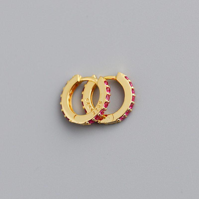 Bông tai bạc mạ vàng đính đá Zircon LILI_338864-05